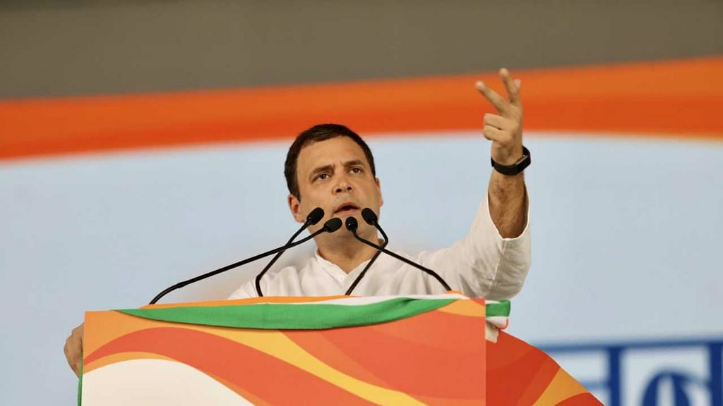 Jan Aakrosh Rally: Rahul Gandhi vows to bring Congress back to power in 2019