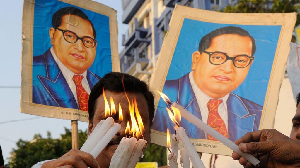 BJP's lip service on Ambedkar Jayanti won't soothe Dalit anger