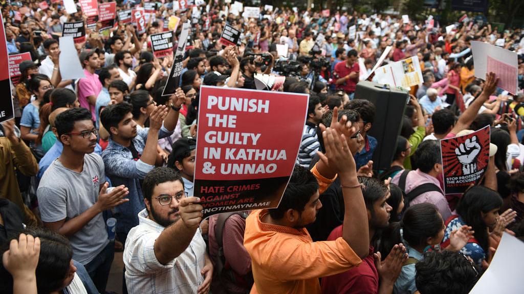 Watch: Delhi people speak up against Kathua, Unnao rapes, slam Modi govt