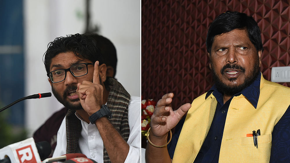 Jignesh  to Athawale: Don't advise me, advise PM, BJP, judges, RSS