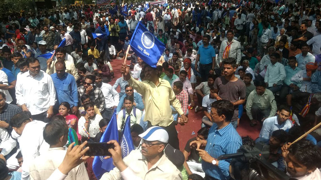 Bharat Bandh: Govt caught lying, violence to discredit Dalits