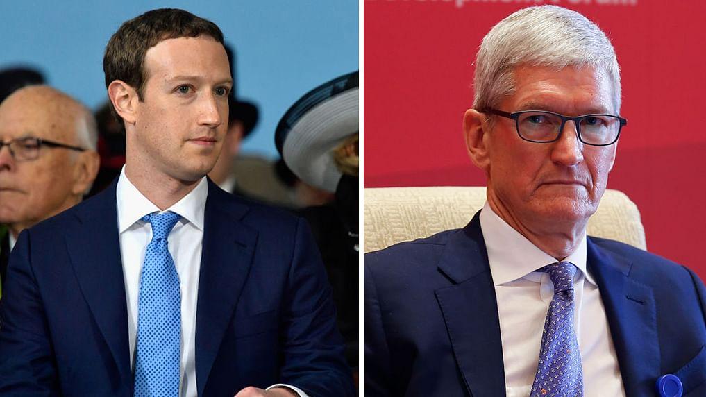 CEO vs CEO: Facebook's Mark Zuckerberg stung by Apple's Tim Cook