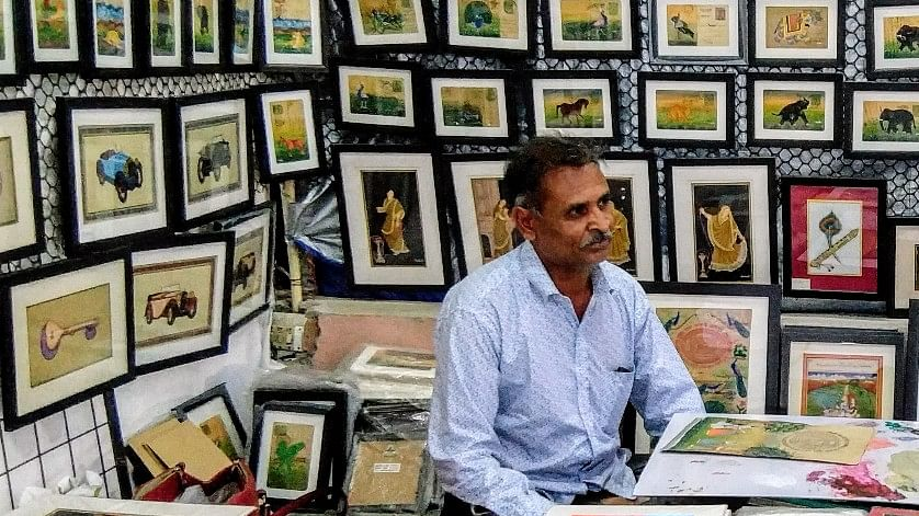 A life devoted to miniature paintings