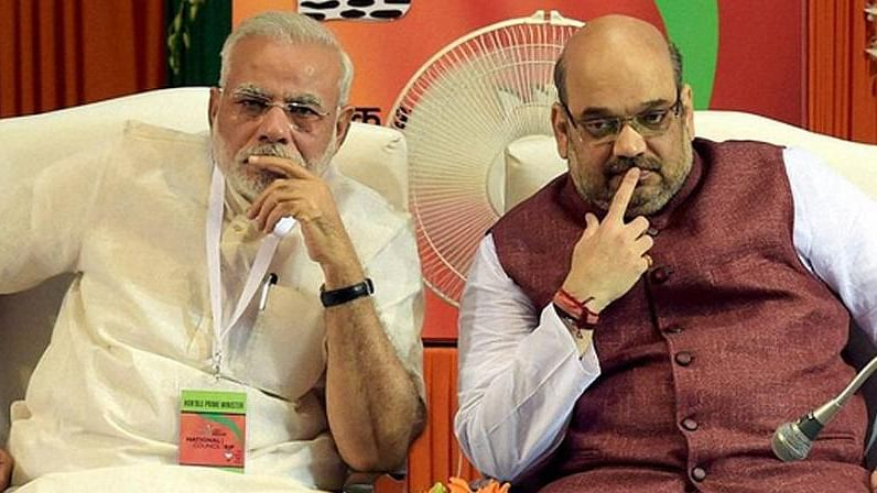 Amit Shah's stress about backlash for BJP's Karnataka moves is showing