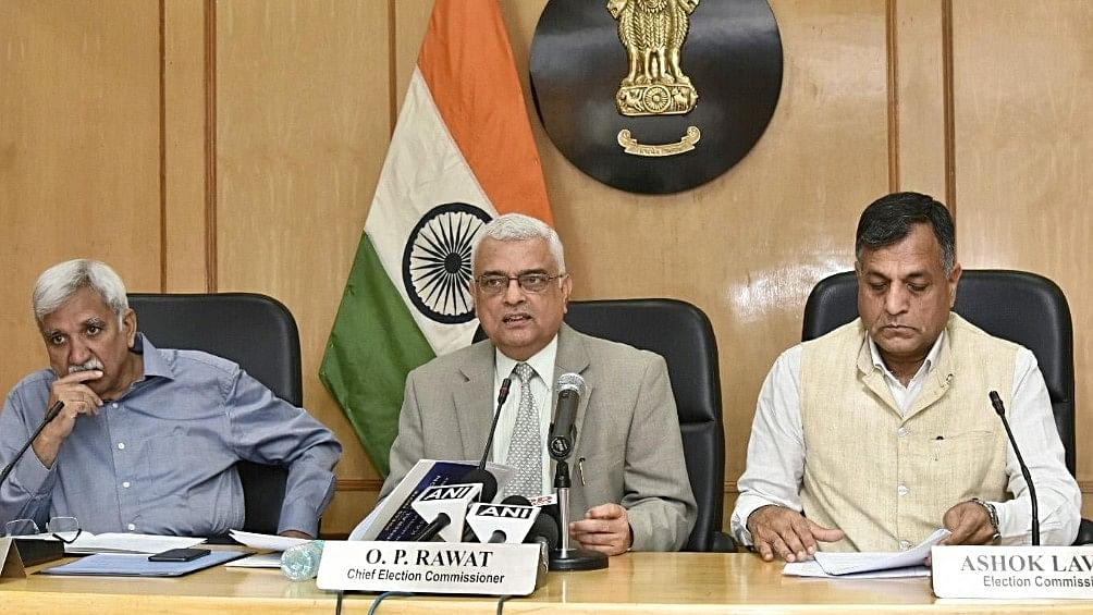 Election Commission loses the byelections as EVMs malfunction