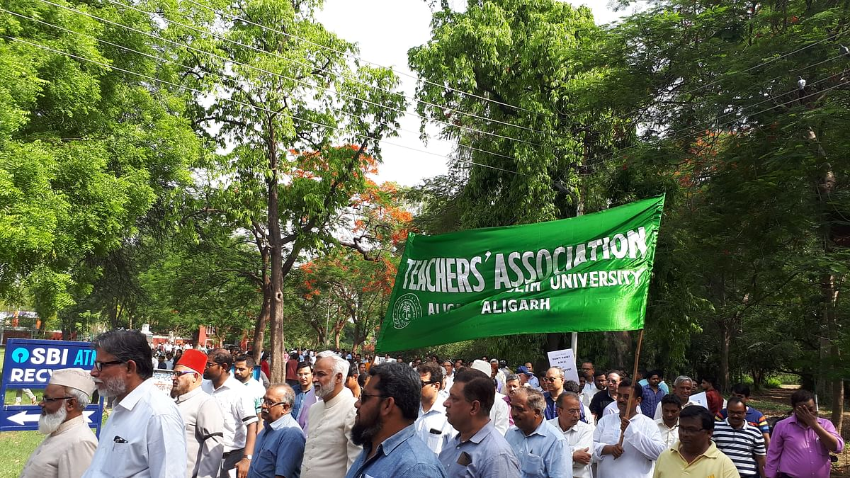 AMU violence: BJP-RSS attempt to communalise incident ably foiled