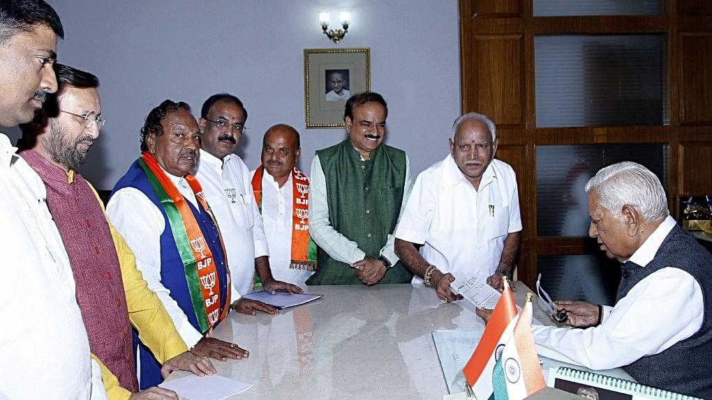 Shock as Karnataka Governor invites BS Yeddyurappa to take oath as CM