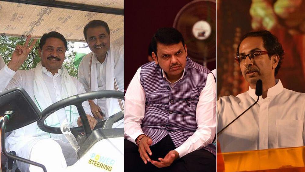 Maharashtra: Congress-NCP combine well as Sena-BJP bad blood spills over