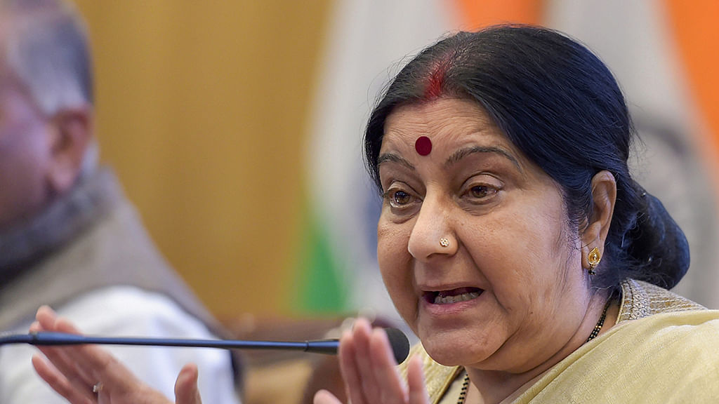 Govt avoids direct reply on whether probe conducted into trolling of Sushma