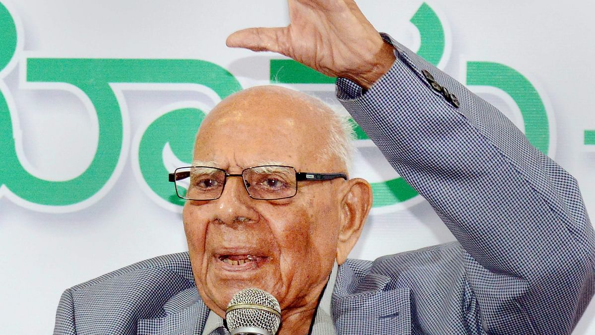 No one but Jethmalani could have intervened in the Karnataka Guv case