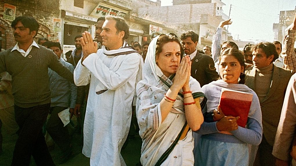 """""""The main enemy is the BJP"""": Rajiv Gandhi in March, 1991"""