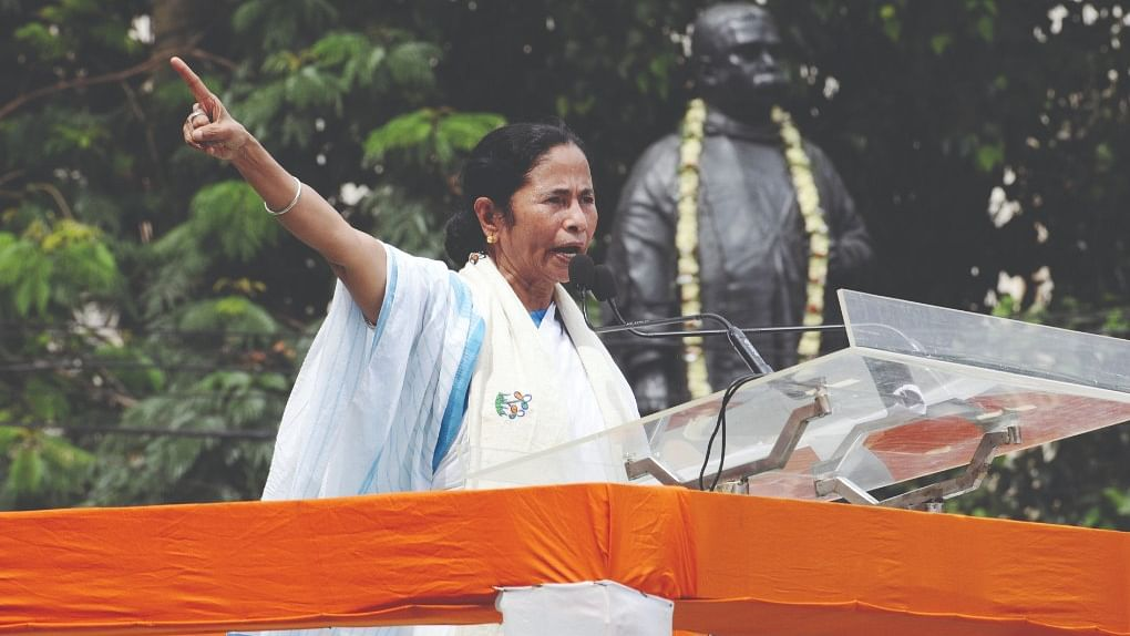 The mercurial Mamata Banerjee...