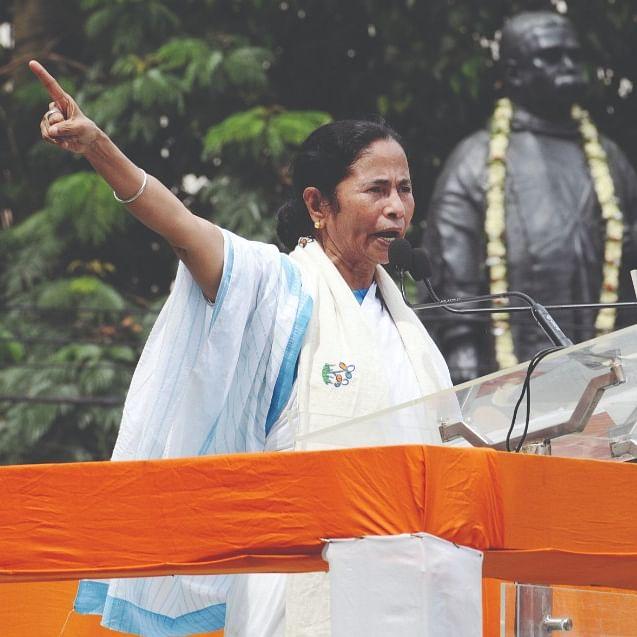 The mercurial Mamata Banerjee...