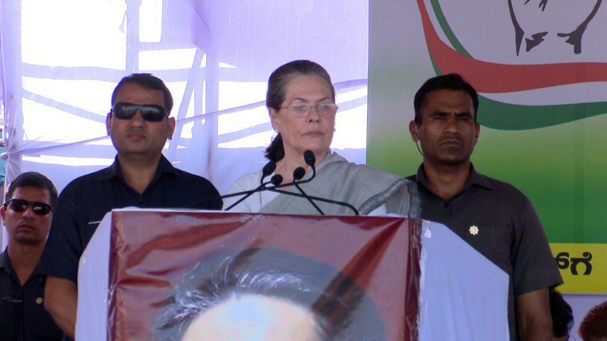 Sonia Gandhi: If words could fill stomachs, PM Modi should speak more