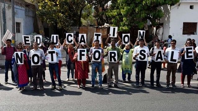 Mess in higher education: 'Suit-boots', moneybags taking over education