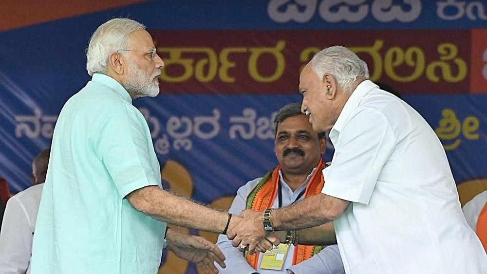 Karnataka: BJP's games to grab power rips party's 'corruption-free' claim