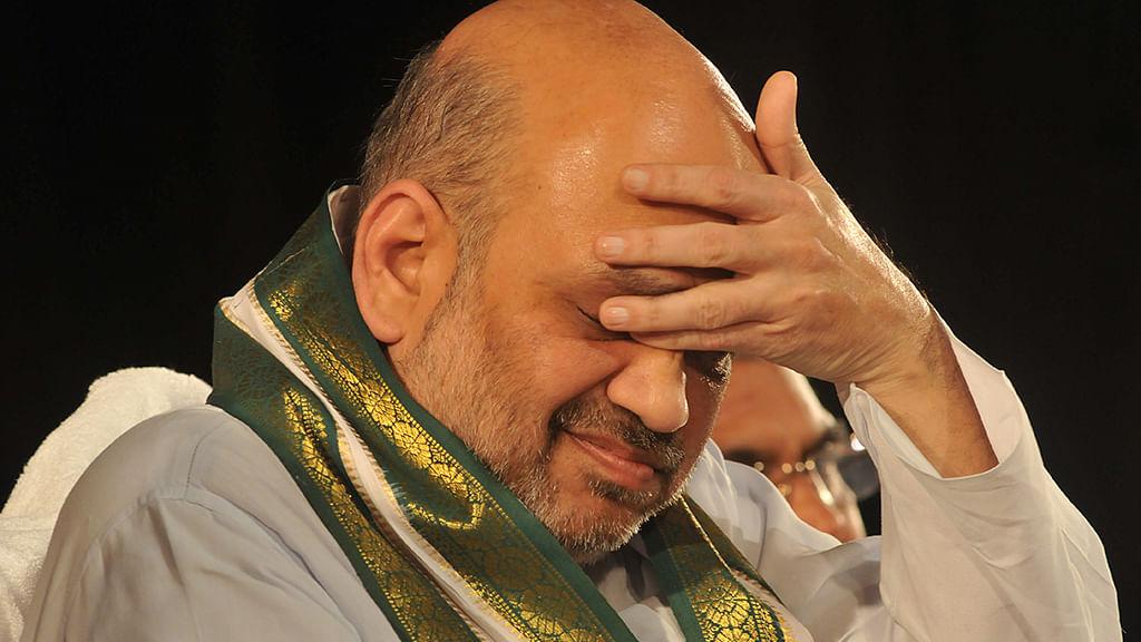 Amit Shah outwitted by Congress-JD(S) combine in Karnataka