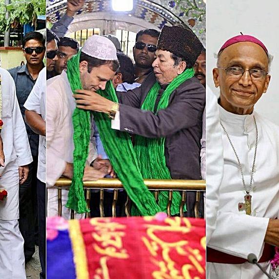 """Rahul Gandhi: """"Fight is between RSS ideology and spirit of Karnataka"""""""