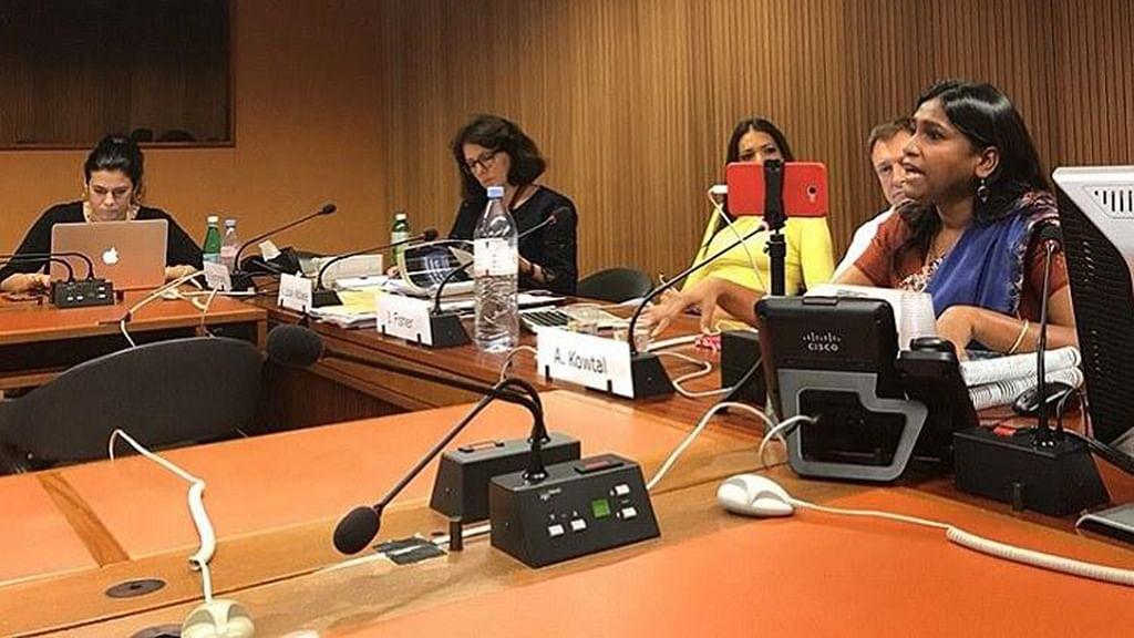 Dalit Women Fight; testify at UN against rising impunity under Modi Govt
