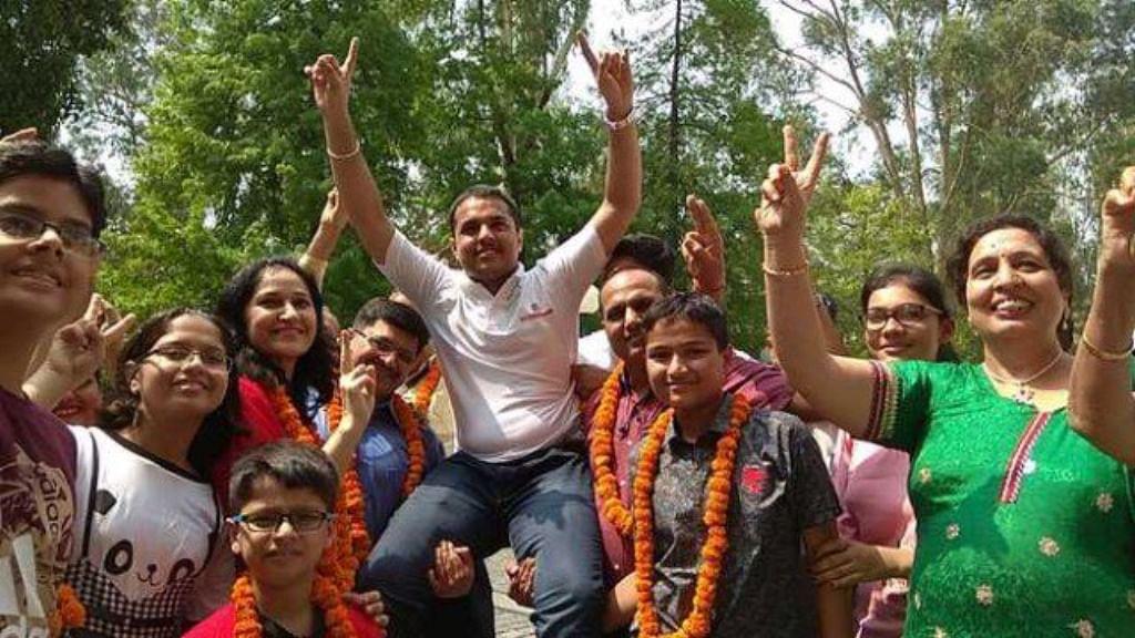 JEE (Advanced) results declared, Panchkula boy Pranav Goyal tops