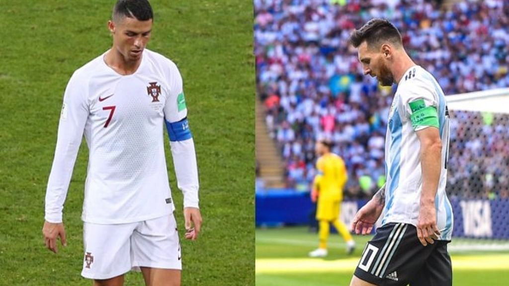 After Messi, Ronaldo out of FIFA World Cup 2018