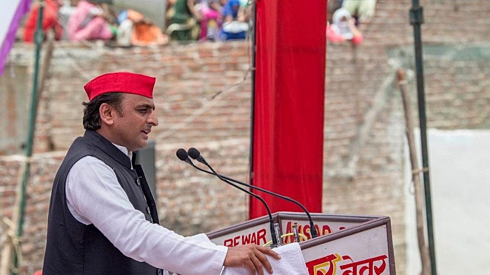 Akhilesh says bungalow damage row a saffron conspiracy to defame him