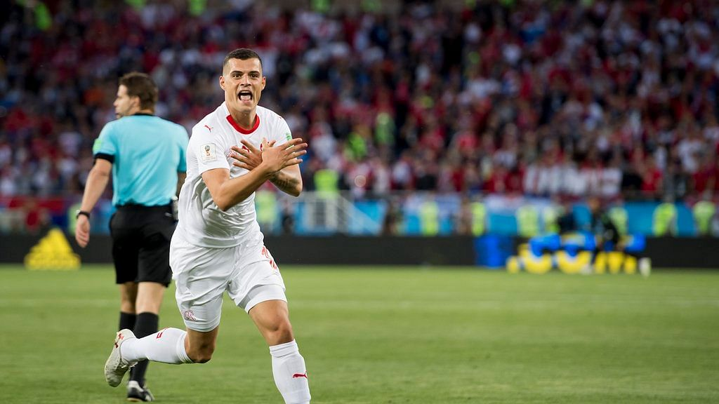 Swiss players face 2-match ban for political World Cup goal celebrations