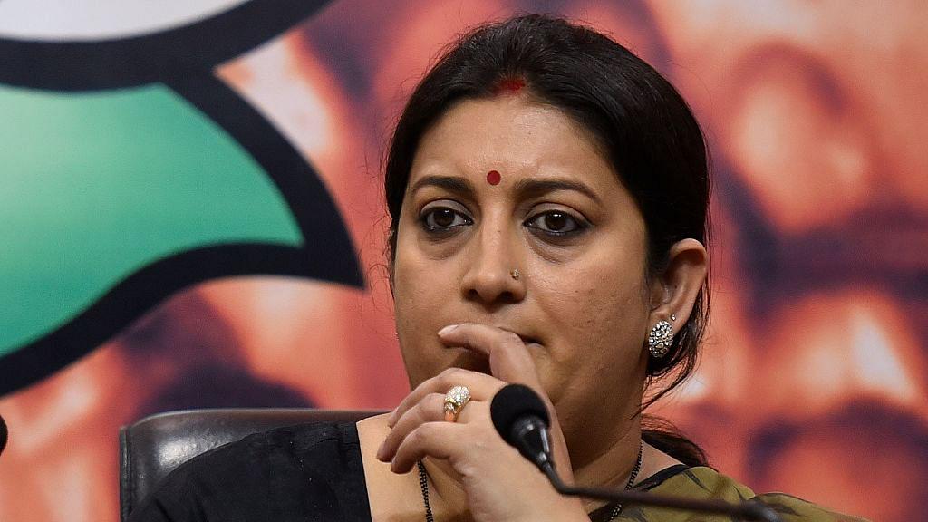Smriti Irani dropped from NITI Aayog invitee list; Javedekar replaces her