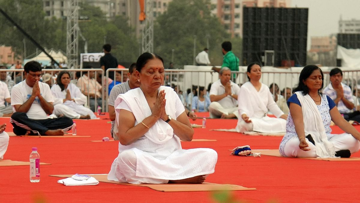 MP Governor issues orders to colleges for Yoga Day; Congress objects