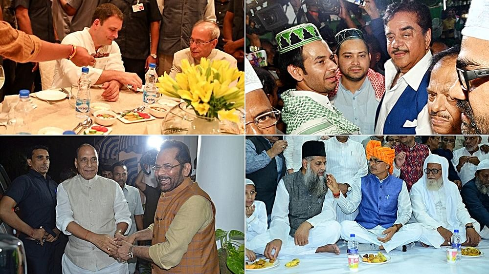 Night of 'political' iftars hosted by Congress, BJP, JDU, RJD leaders