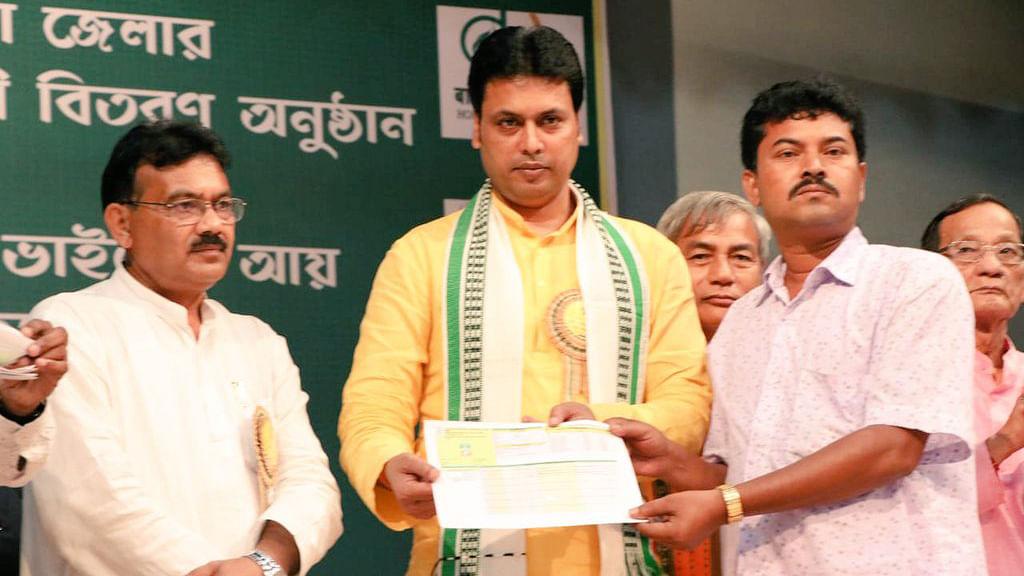 CM Biplab Deb says CBI to probe killings of two journalists in Tripura