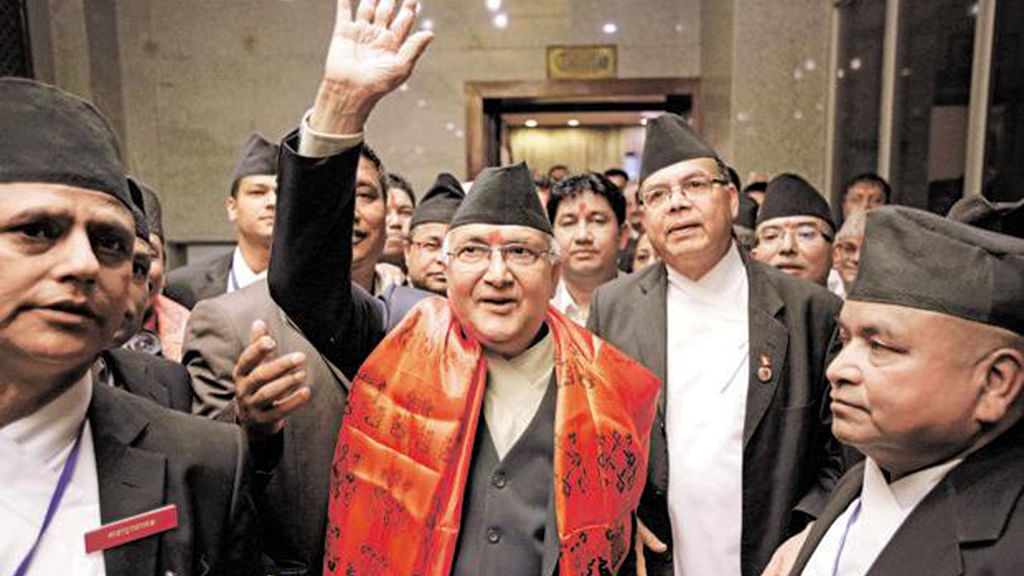 KP Oli to visit China, deepening cooperation on Belt and Road on agenda