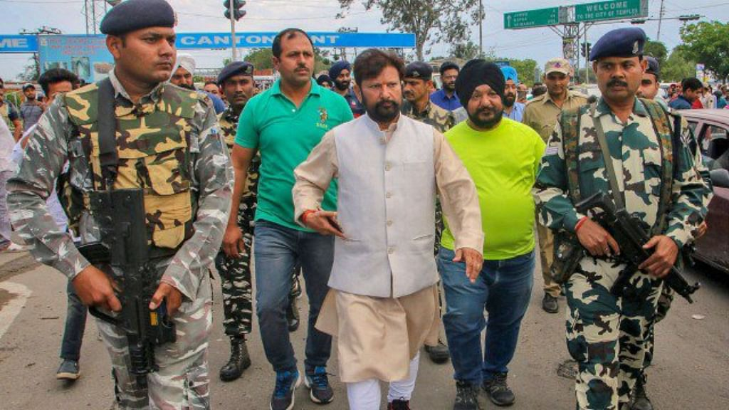 Kashmir BJP leader's brother arrested