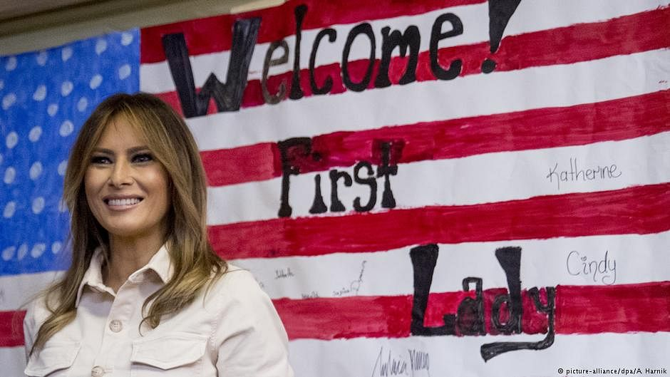 "Melania Trump at Mexico border: ""I really don't care, do you?"""