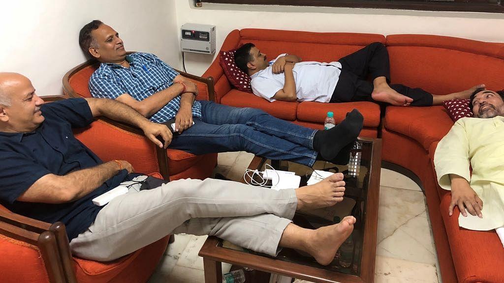 Niti Aayog rubbishes Kejriwal's claim of Lt Gov replacing him at meet