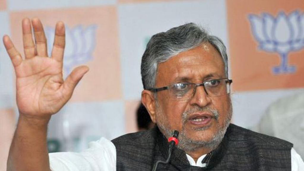 Sushil Modi deletes tweet on Nitish as Bihar Chief Minister
