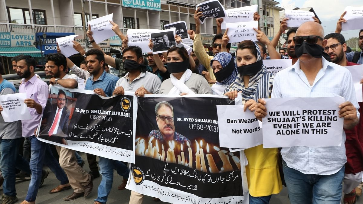 Shujaat Bukhari's assassination: Wails from Kashmir Valley