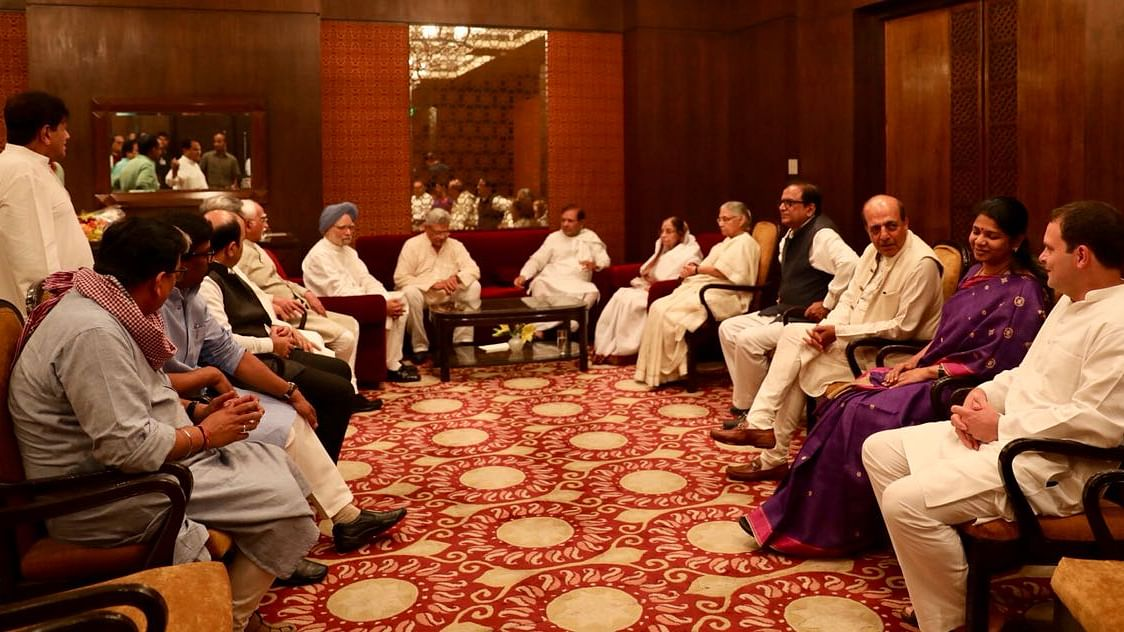 Live Updates: Opposition leaders arrive for Congress iftar party in Delhi