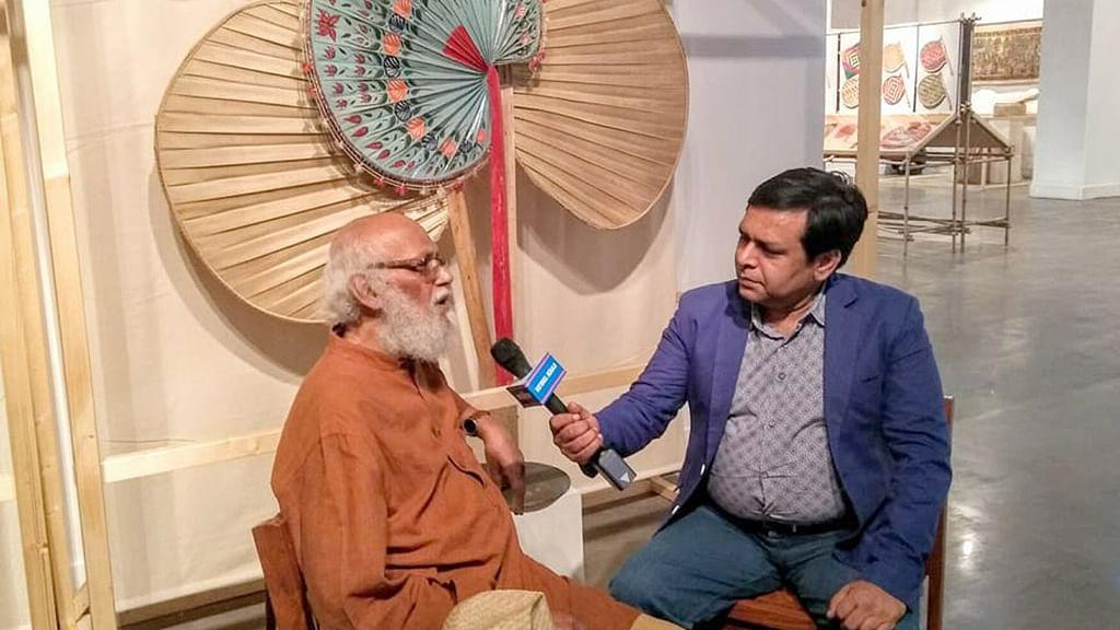 A unique exhibition on pankha (hand fans)