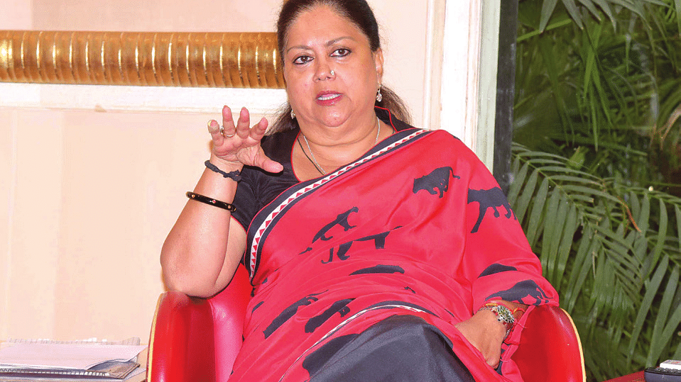Rajasthan: Raje's failure to give jobs to hurt BJP