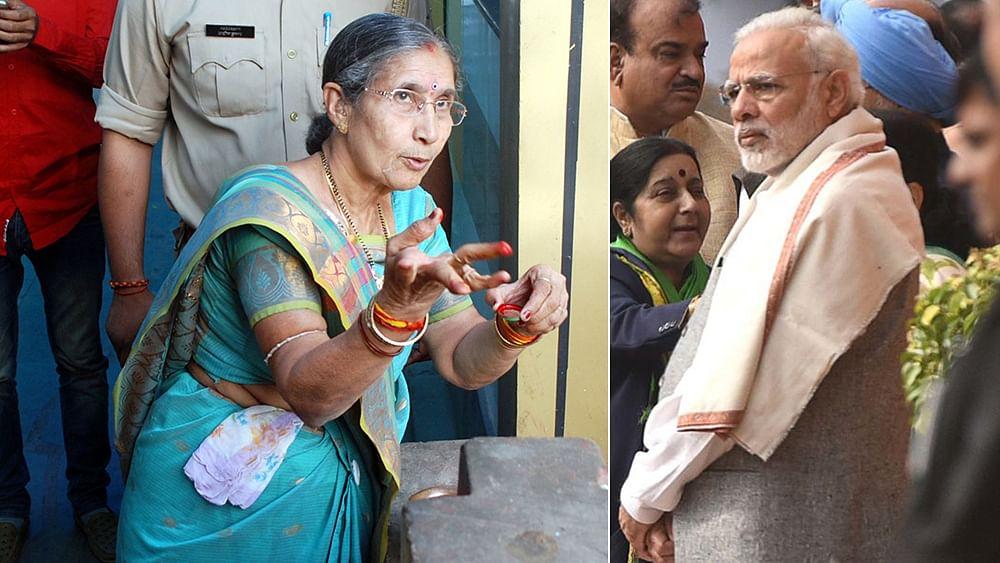 "Jashodaben objects to Anandiben saying PM Modi is unmarried, says ""He's my Ram"""