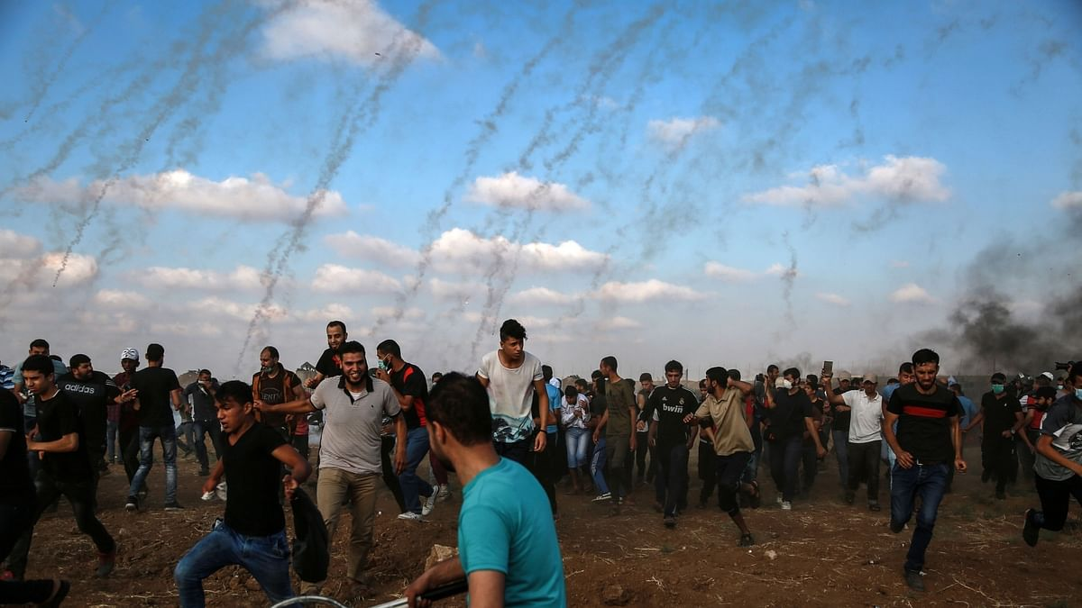 Israel strikes Gaza, calls it 'military exercise' amid tensions with Iran