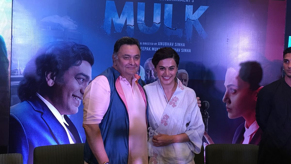 'Mulk' is a story of our times, our people, says director Anubhav Sinha