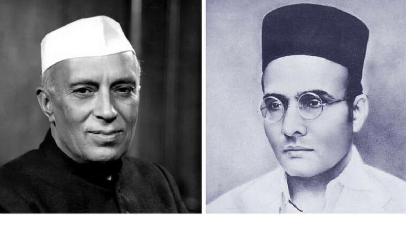 NSUI: Savarkar's photo has replaced Nehru's in Goa Class 10 history book