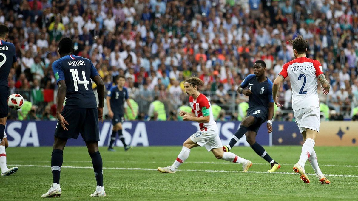 World Cup final:  France gets the crown after defeating Croatia 4-2 in an intense battle