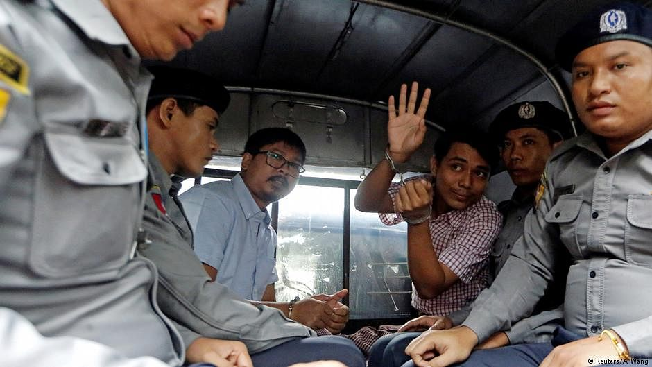 Jailed Reuters journalists file appeal with Myanmar's SC against prison sentence