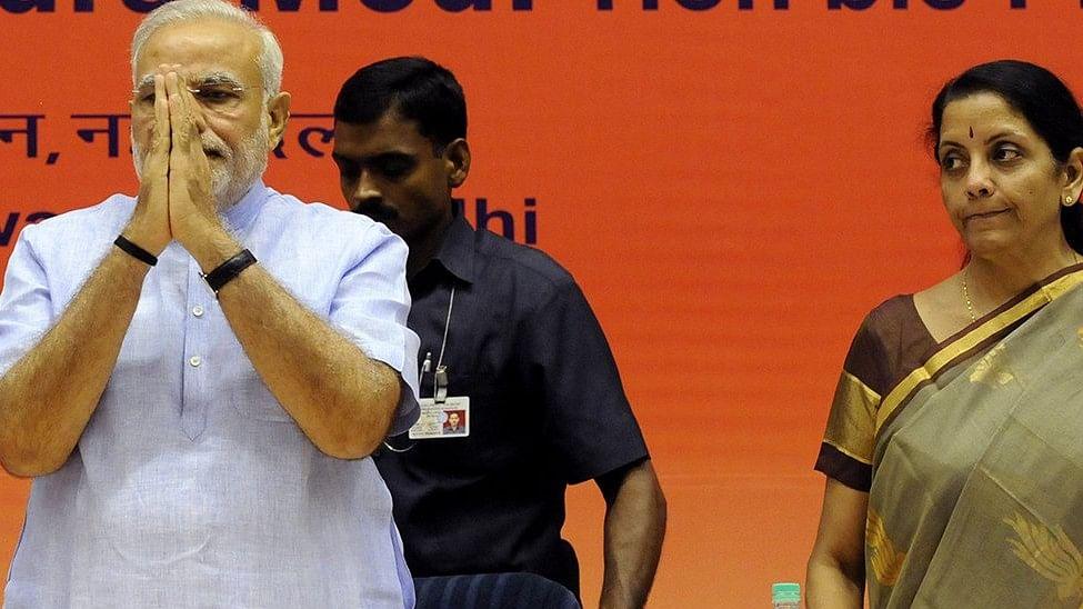 PM Modi repeats Nirmala Sitharaman's 'fake news'