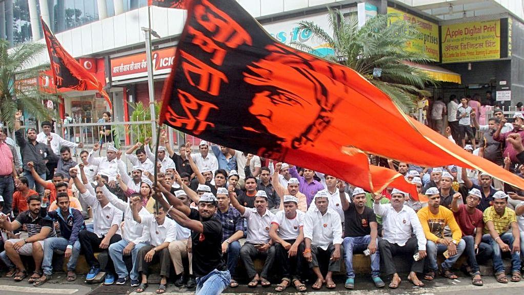 Maharashtra bandh after youth's suicide during  Maratha reservation stir