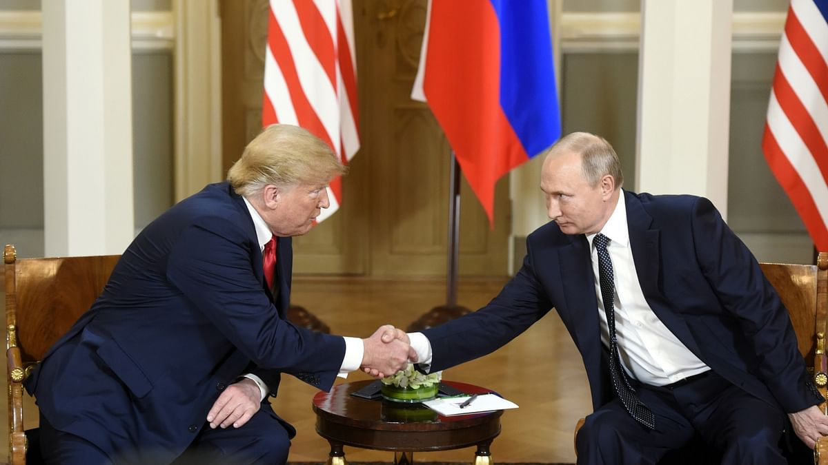 Trump blames US 'foolishness' for strained relations with Russia