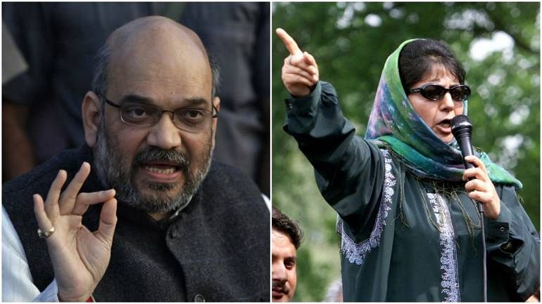 Projecting opponents as enemies is old BJP tactic, Mehbooba hits back at Amit Shah over Gupkar Gang remarks